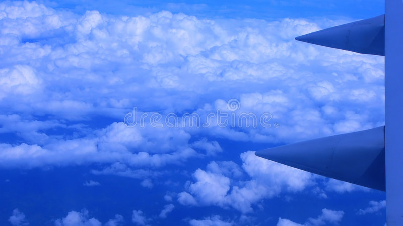 Download View From The Aircraft Window Stock Image - Image: 5937363
