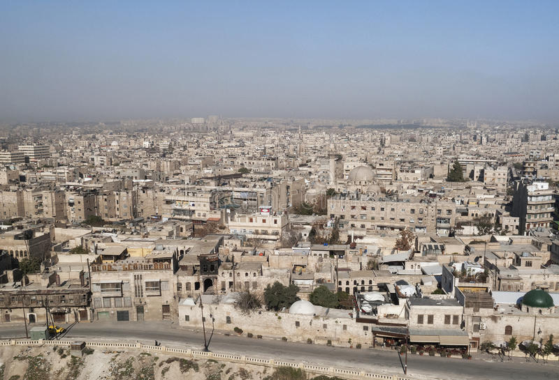 Download View of aleppo in syria stock image. Image of travel - 26650141