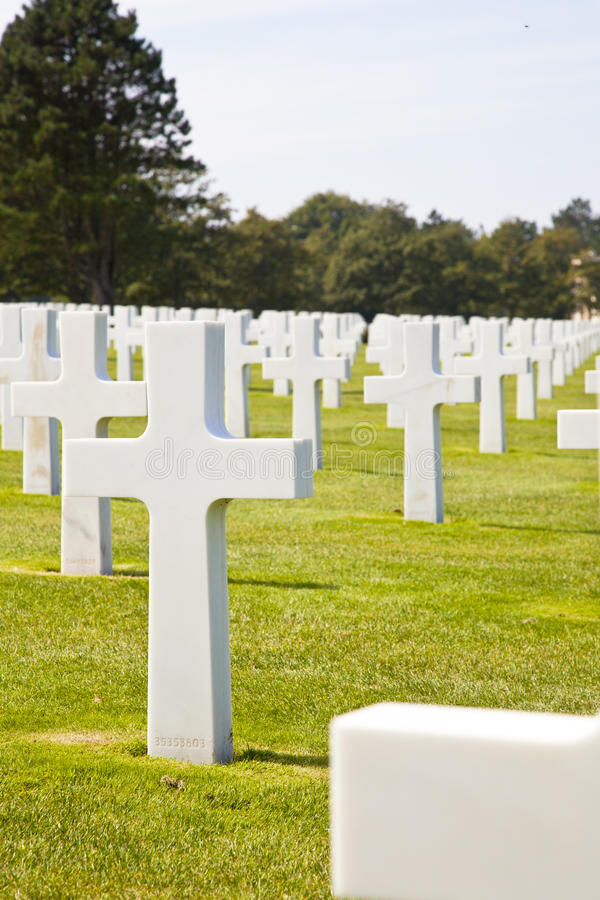 Download View At American Cemetery In Normandy, France Editorial Image - Image: 21222355