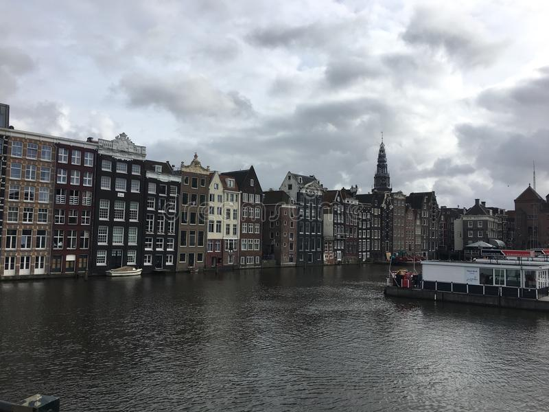 View from Amsterdam royalty free stock photos