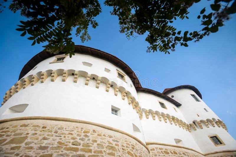 Veliki Tabor castle in Zagorje stock photo