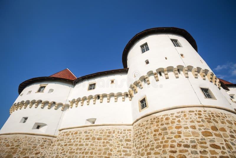Veliki Tabor castle in Zagorje stock image