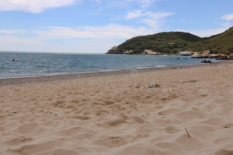 Arrabida beach stock images