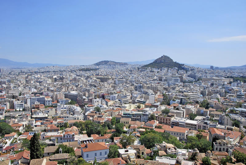 Download View of Athens stock photo. Image of metropolis, building - 26507006