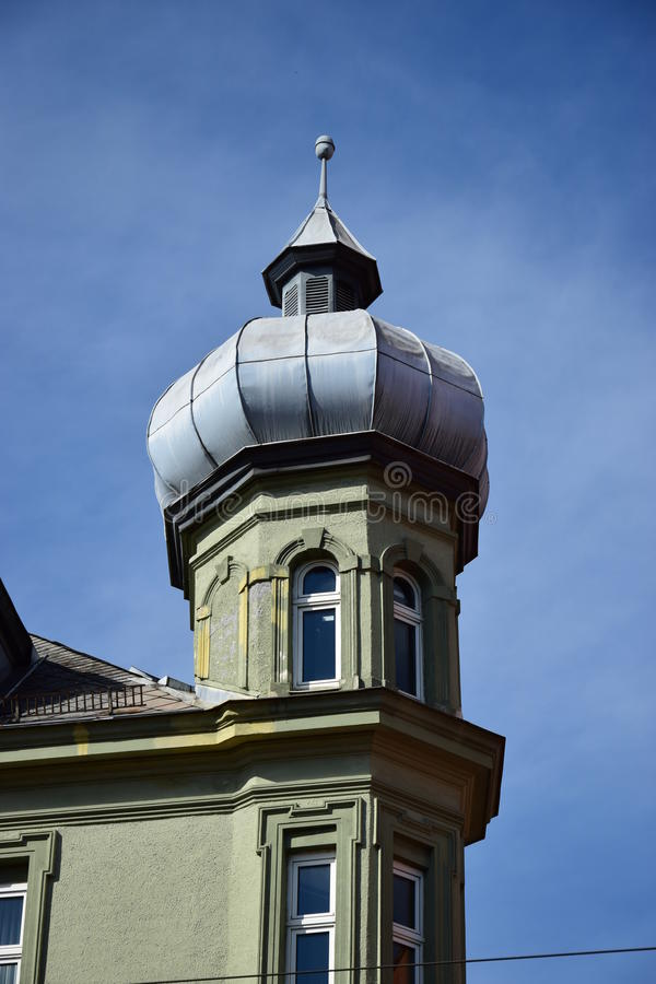 View in Augsburg, Germany. View in Augsburg, region Swabia, Germany royalty free stock photo