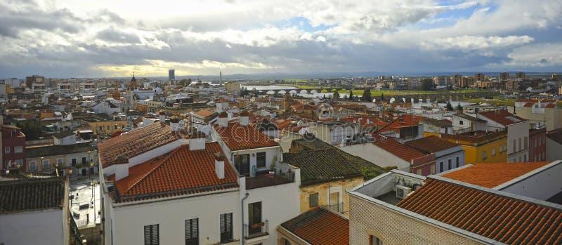 View of Badajoz, Extremadura, Spain stock photos