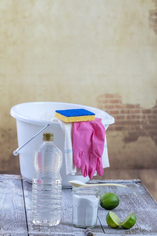 Cleaning The Floor With Pink Mop Stock Photo Image Of
