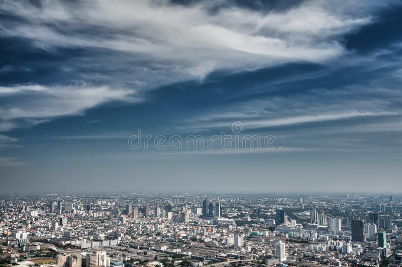 Download View of the daily Bangkok stock photo. Image of buildings - 22829734