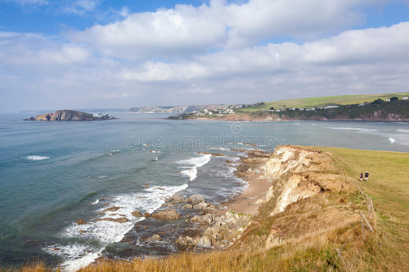 Download View From Bantham To Bigbury Stock Photo - Image of landscape, tops: 34320030
