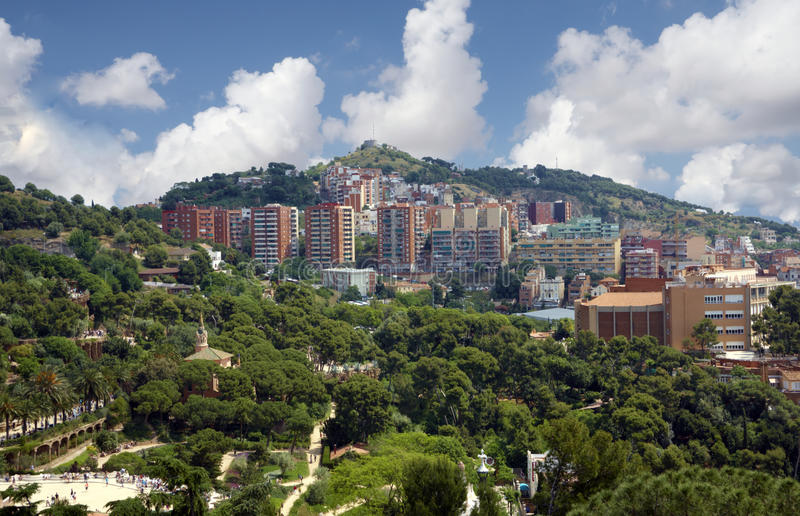 Download View of Barcelona stock image. Image of europe, colorful - 27478321
