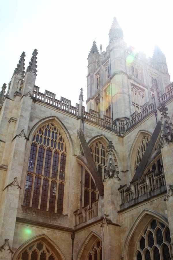 Bath Abbey, Bath, England UK royalty free stock photos