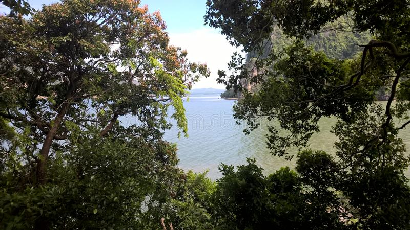 View of the bay royalty free stock photography