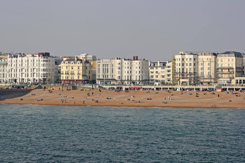 Download View Of The Beach At Brighton, UK Editorial Photo - Image: 20967611
