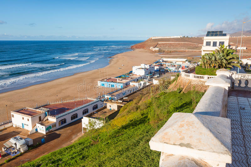 Download View Of The Beach In Sidi Ifni Stock Photo - Image: 83718217