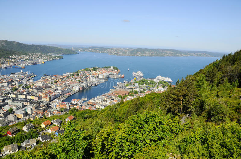Download View Of Bergen From Mount Floyen Stock Photo - Image: 25341594