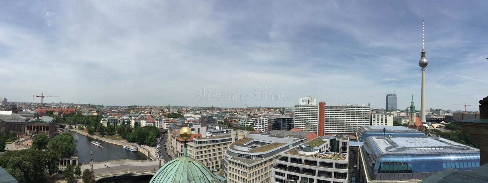 View of Berlin royalty free stock photography