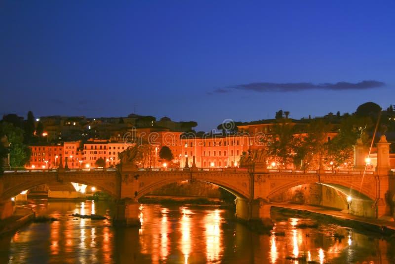 View from Bernini s bridge in Rome