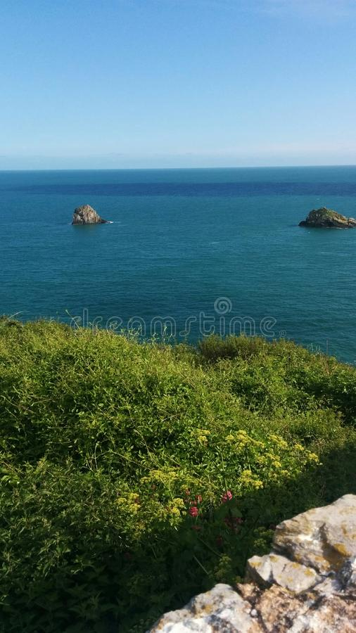 View from berry head royalty free stock images