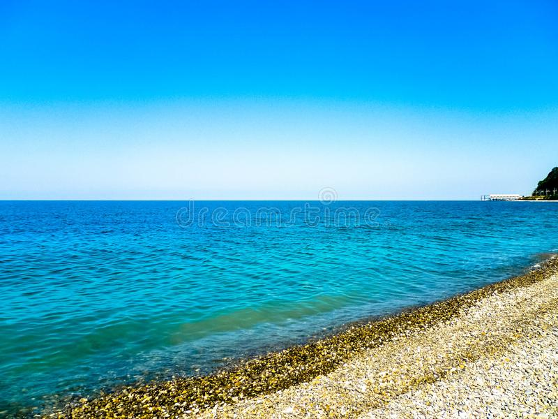 Sea in Russia stock photos