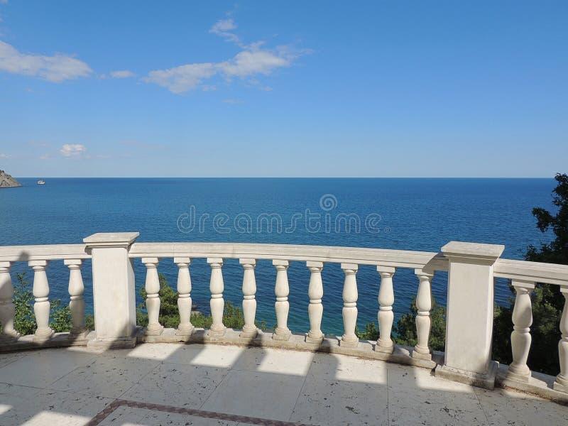 Views of the Black sea. royalty free stock photos