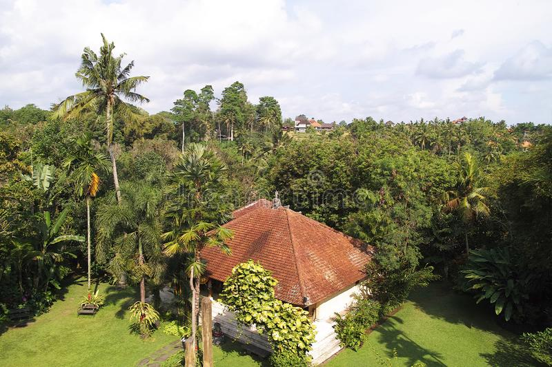 View from Blanco Renaissance Museum. Indonesia, Bali, Ubud - Sep, 2014 : View from Blanco Renaissance Museum royalty free stock image