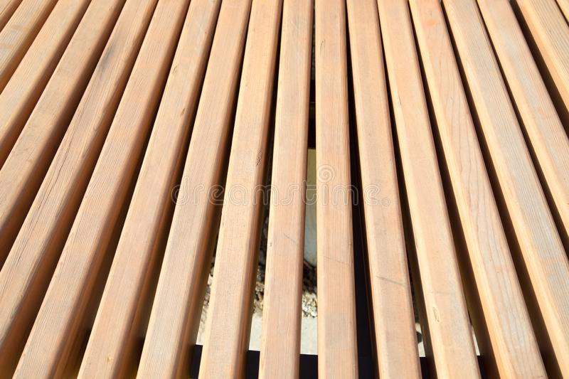 View of the boards of light brown. royalty free stock photos