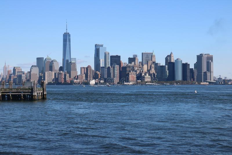 Skyline New York City, Manhattan royalty free stock images
