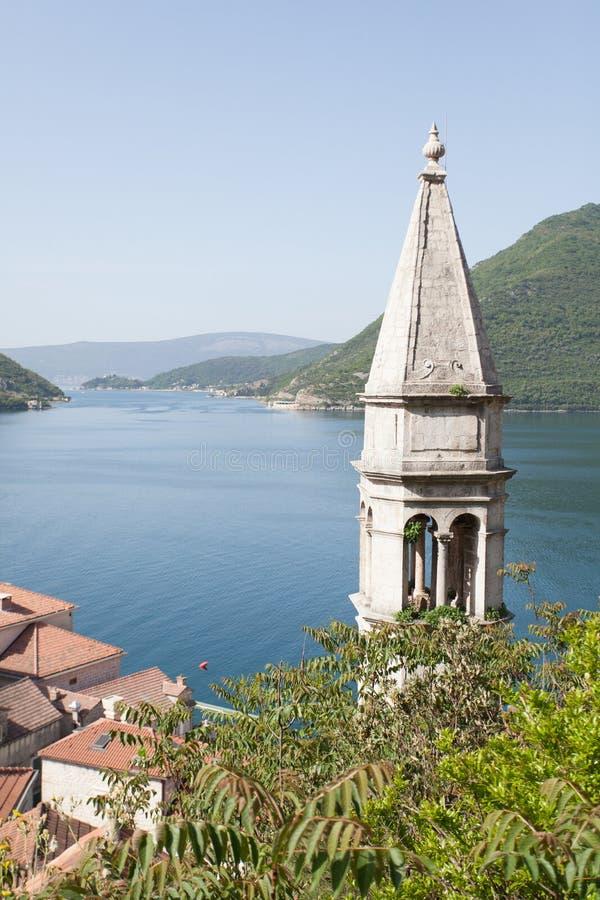 View of Boka Kotorska Bay. Boka Kotorska Bay royalty free stock photos