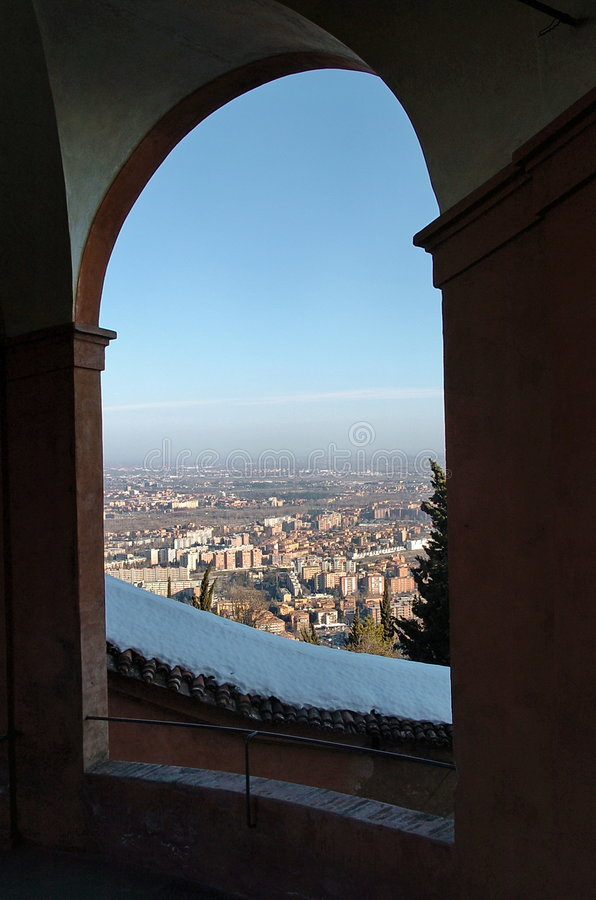 View of Bologna royalty free stock photo