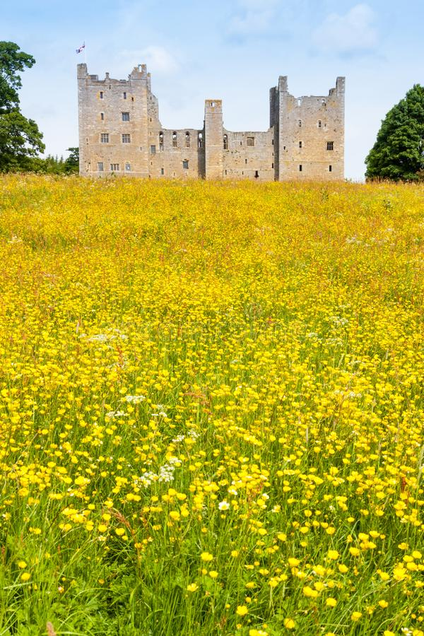 Bolton Castle in North Yorkshire royalty free stock photos