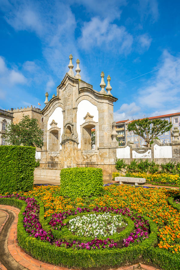 View of the botanical garden in Barcelos ,Portugal. View of the botanical garden in Barcelos - Portugal stock photo