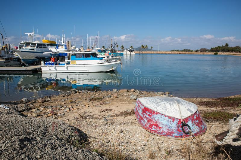 Bowen Harbour, general view royalty free stock photos