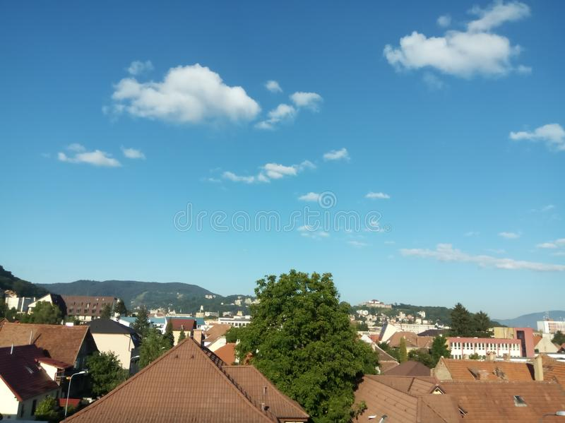 View of Brasov stock photo