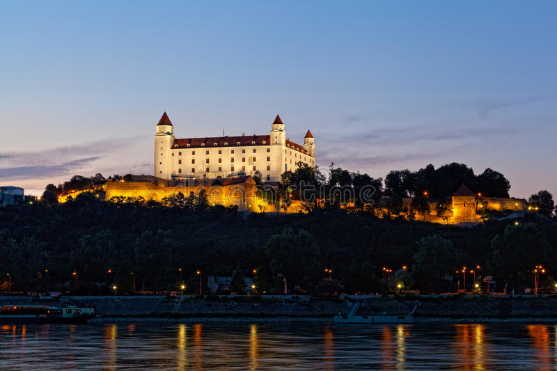 View of the Bratislava royalty free stock images