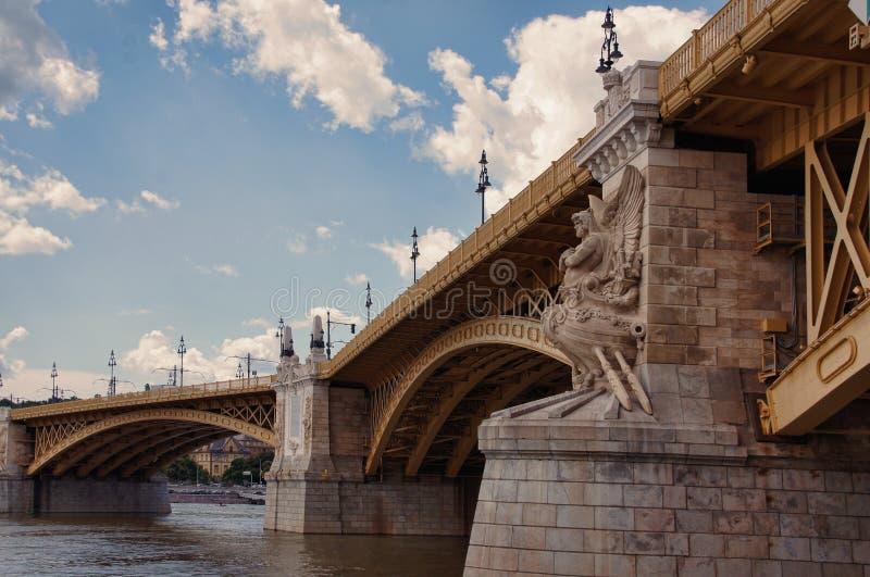 View of Bridge in City stock images
