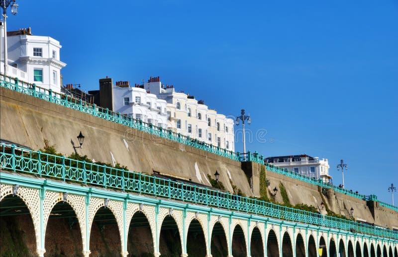 Download View Of Brighton Promenade stock photo. Image of shops - 23876454