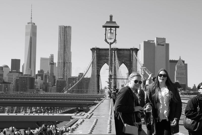 Download View from Brooklyn bridge editorial photography. Image of tourism - 39643847