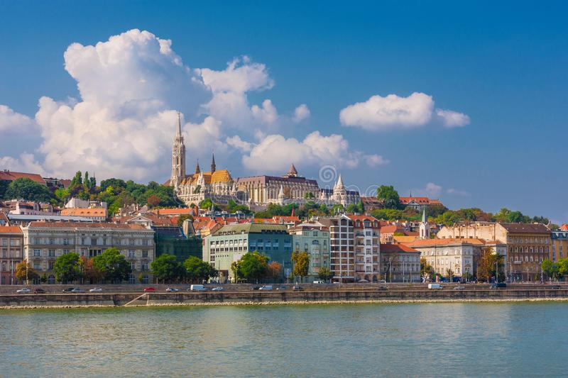 Budapest and Danube stock photos
