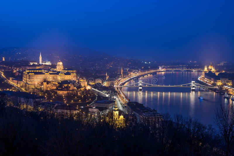 View of Budapest, Hungary. Europe royalty free stock photography