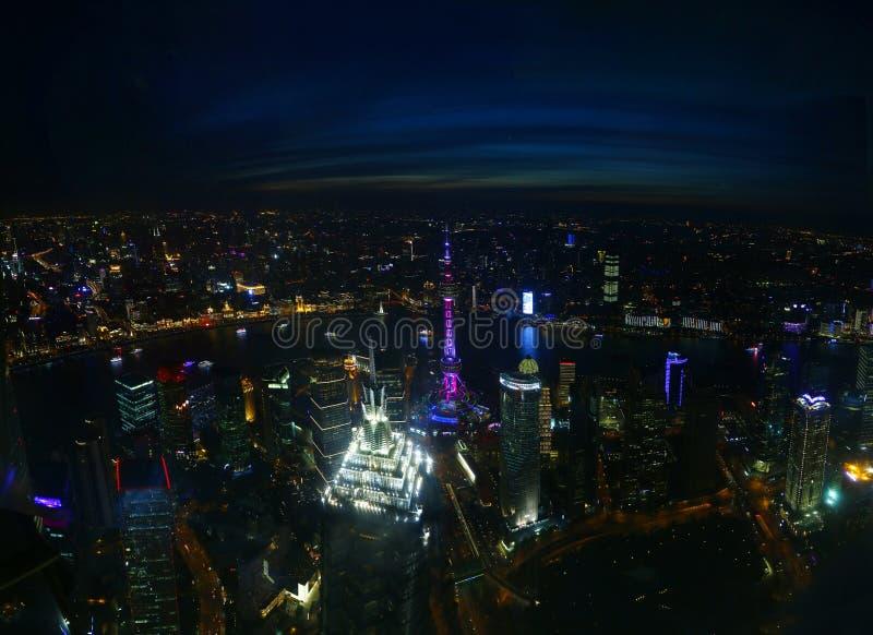 View of Shanghai, China stock photo