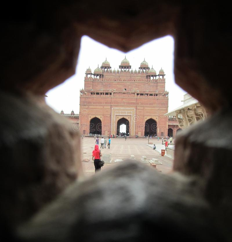 View of Bulandh Darwaza royalty free stock photos