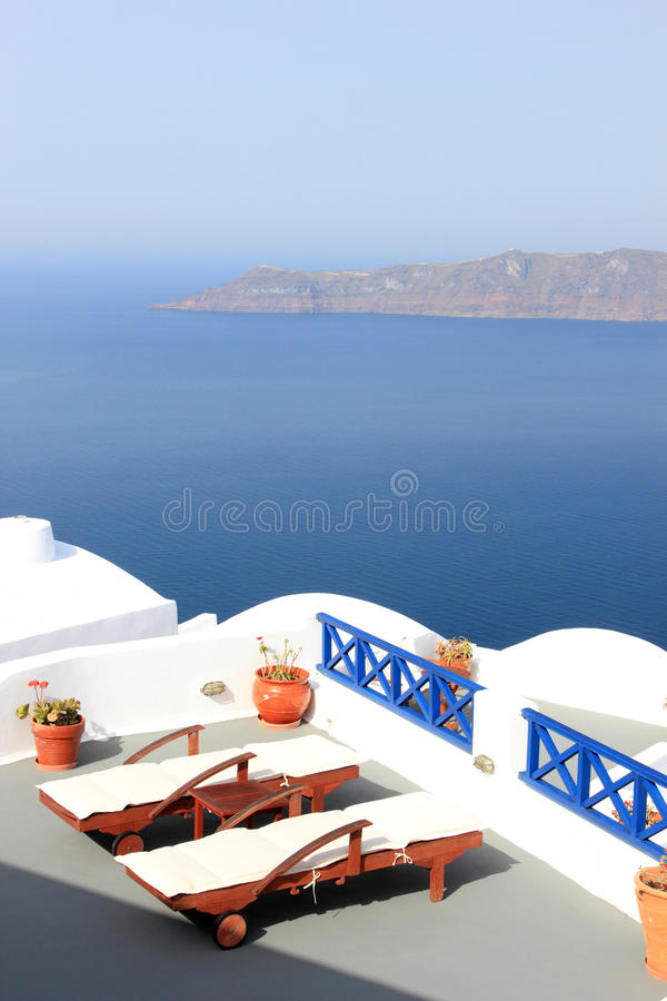 Download View On Caldera And Sea From Balcony Stock Image - Image: 24645619