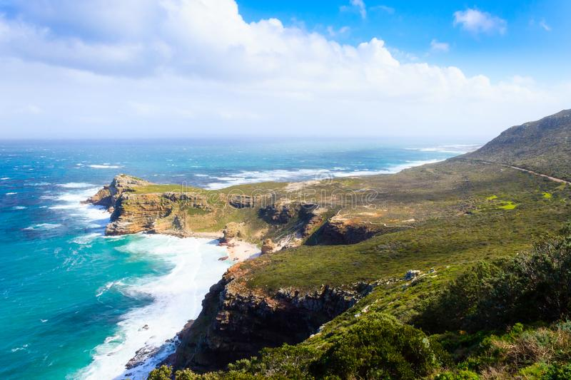 View of Cape of Good Hope South Africa royalty free stock photos