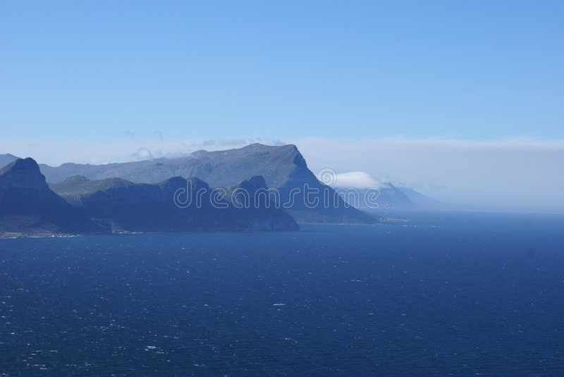 View from cape point SA royalty free stock photography