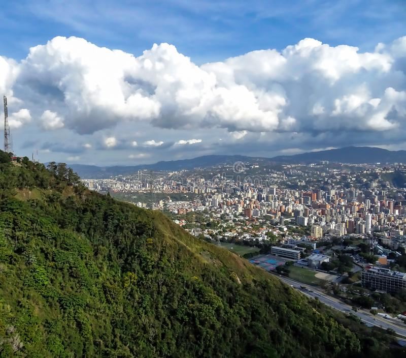 Travel photography - Caracas, Venezuela. royalty free stock images