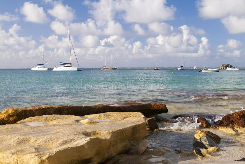 St Maarten stock image