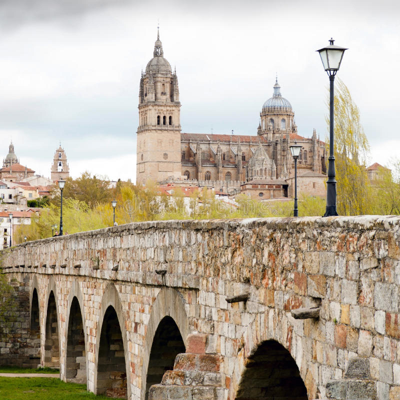 Download View on Cathedral stock image. Image of spain, antique - 24728637