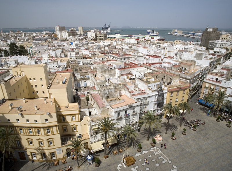 Download View From Cathedral In Cadiz Stock Image - Image: 2728319