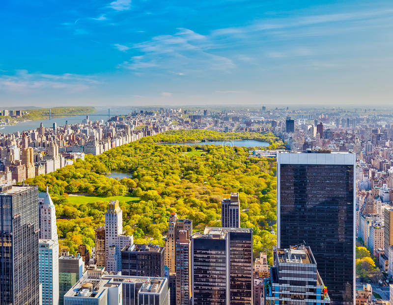 Download View On Central Park, New York Stock Image - Image: 41881557