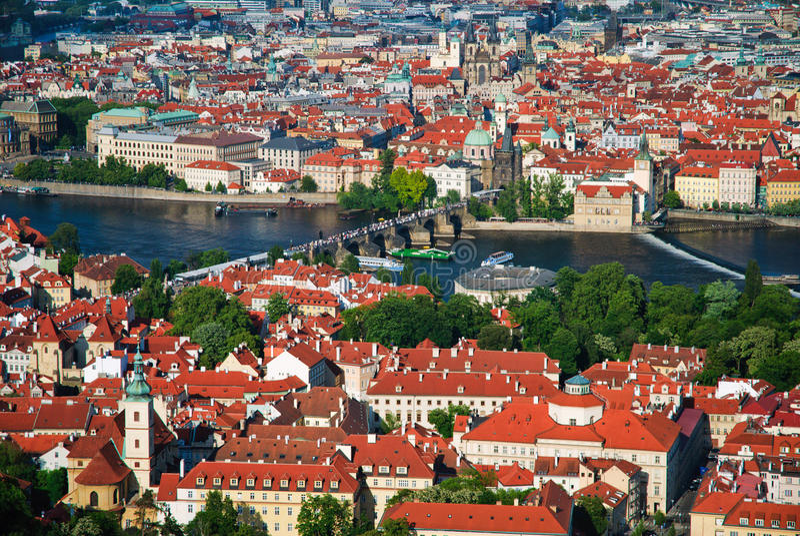 Download View Of Charles Bridge In Prague Stock Photo - Image: 9852388